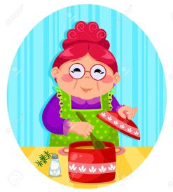 18585377-happy-woman-cooking-soup-Stock-Vector-cooking-grandmother-cartoon
