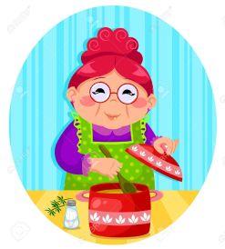 18585377-happy-woman-cooking-soup-Stock-Vector-cooking-grandmother-cartoon